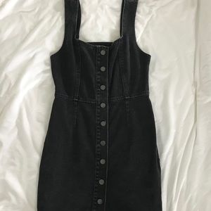 Urban Outfitters Button-Front Denim Dress